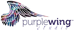 Purplewing Studio – Claudia Zebersky Logo
