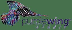 Purplewing Studio – Claudia Zebersky Logo